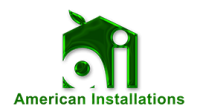American Installations Logo - Green