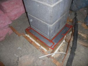 chimney air sealing