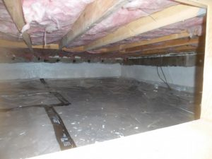 crawlspace vapor barrier